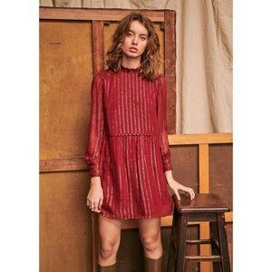NWT Sezane Odile Silk Dress - FR 34